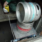 Winda do transportu keg z piwem - GEDA Beerlift